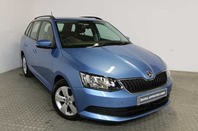 SKODA Fabia Estate SE 1.2 TSI 90 PS 5G Man